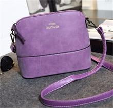 Heißer Verkauf frauen Handtasche Vintage umhängetasche weiblichen Schale Nubukleder Kleine Crossbody Taschen für Frauen Messenger Handtaschen