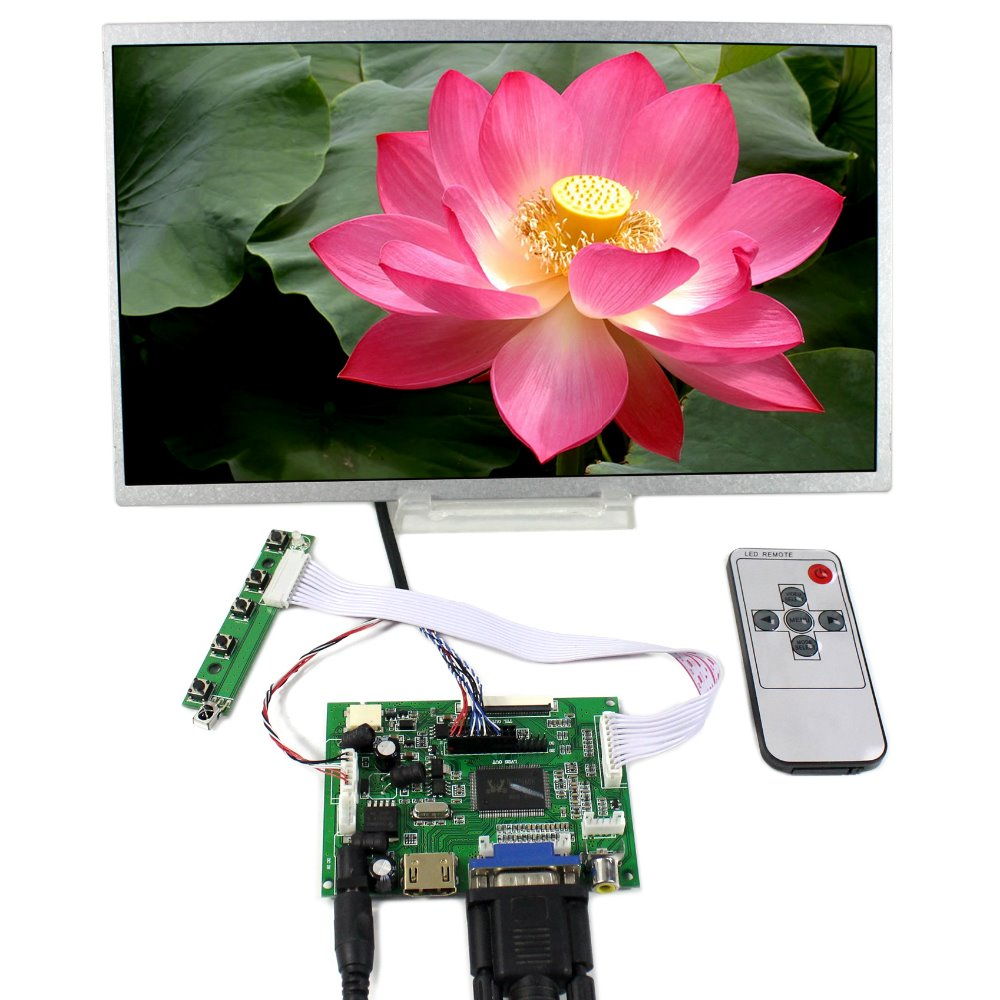 HDMI VGA 2AV LCD Controller Board+11.6 1366x768 N116B6 LP116WH1 B116XW02 LCD Screen vga hdmi lcd controller board for lp140wh2 lp140wh6 lp140wh7 lp140whu edp 30 pins 1 lane 1366x768 wled lcd free shipping