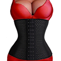 2015 Sexy Corsets and Bustiers slimming body waist shaper tummy trimmer black waist trainer corset invisible tummy trimmer
