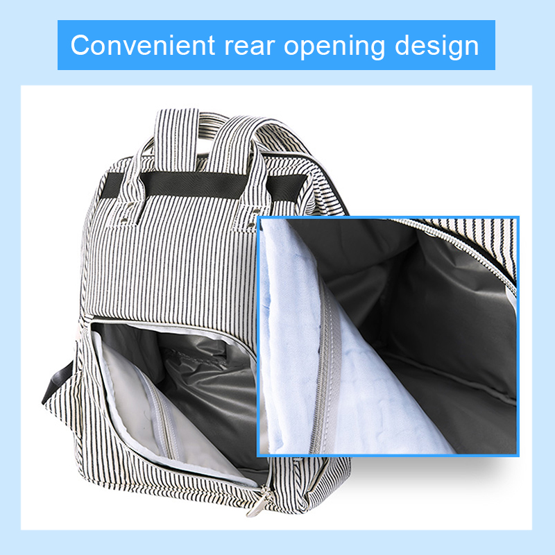 Baby Diaper Bag Mummy Maternity Travel Waterproof Bag Nappy Changing Backpack Organizer Nursing Wet Bag Large Capacity Baby Bag (11)