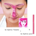 Magic Eye Brow Template With Pencil Eyebrow Stencil Makeup Fashion DIY Eyebrows Template Tool And Brow Pen H93
