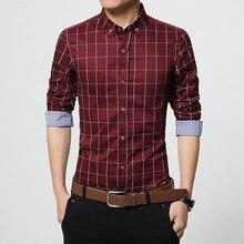 Мужская повседневная рубашка 2016 5XL