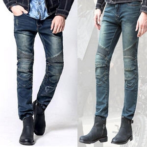 Image 3 - Uglybros Featherbed Jeans Mens Motorcycle jeans 3 color motorbike pants  protective moto Motocross pants size 28 44