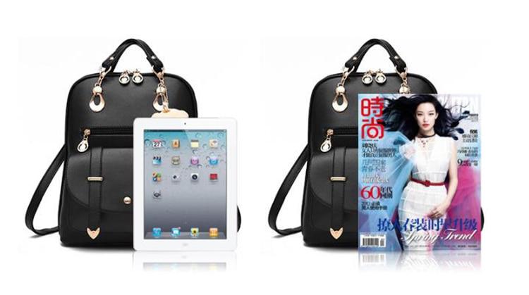 HTB1YW2fDf9TBuNjy0Fcq6zeiFXaU Preppy Style Women Backpack Bear Toys PU Leather Schoolbags for Teenage Girls Female Rucksack Shoulder Bag Travel Knapsack