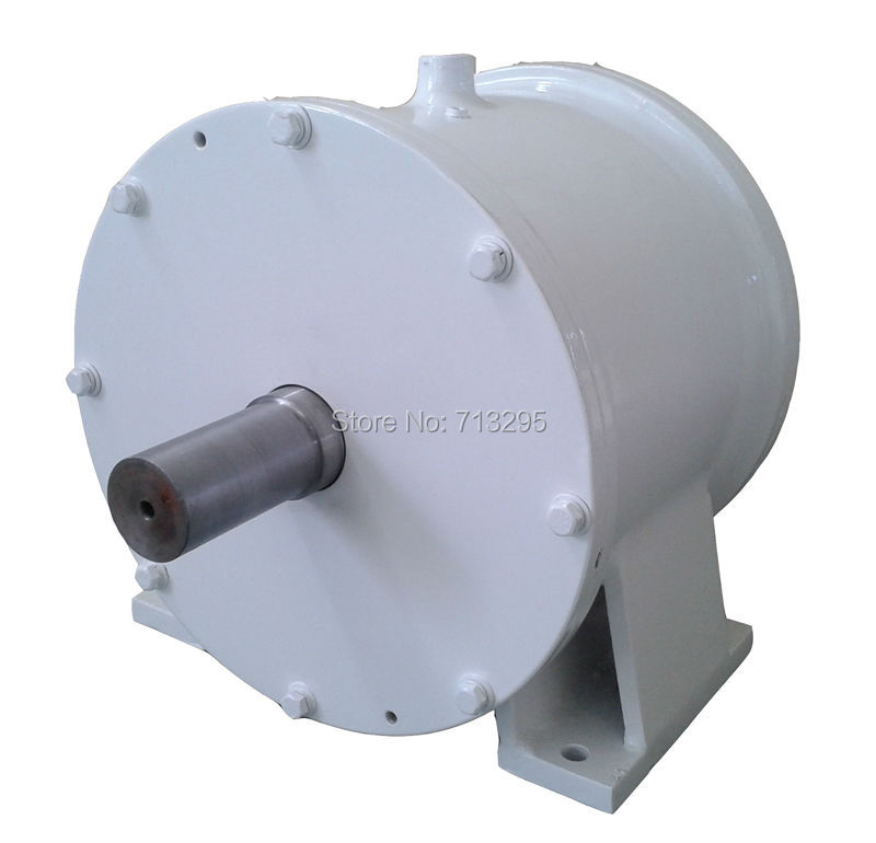 10KW 200RPM 380VAC low rpm horizontal wind & hydro alternator/ permanent magnet water power dynamotor hydro turbine