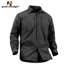 Outdoor Quick Drying Shirts Men Army Breathable Military Tactical Hunting Fishing Clothes