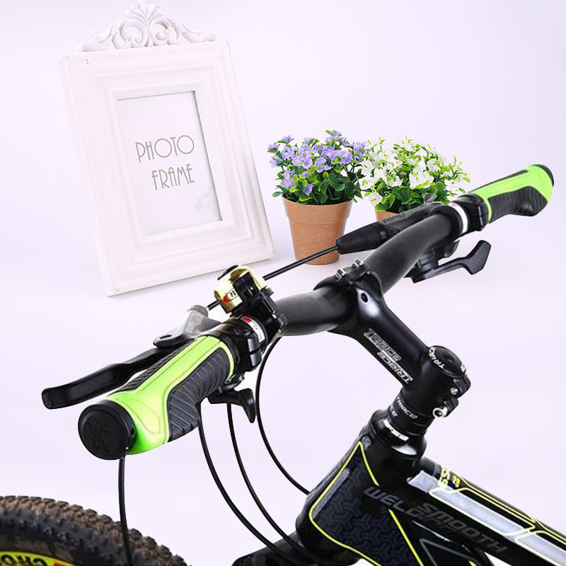 Mountain Bike Bicycle Cycling Sport Handlebar Handle Bar Rubber Hand <font><b>Grips</b></font>