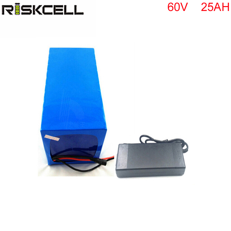 ebike lithium battery  60v 25ah lithium ion bicycle 60v 3000w electric scooter battery for kit electric bike  with BMS , Charger free shipping 48v 18ah lithium battery electric bicycle scooter 48v 1000w battery lithium ion ebike battery pack akku with bms
