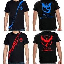 Pokemon Go 2016 New Fashion Design T-shirt 3 Colour Men's T-shirt Short-sleeved Roung Neck Printed T-shirt