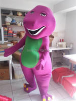 Ohlees Barney Mascot Costume Halloween Christmas Birthday Props Costumes For Adult Kids cartoon animal mascot customize toys