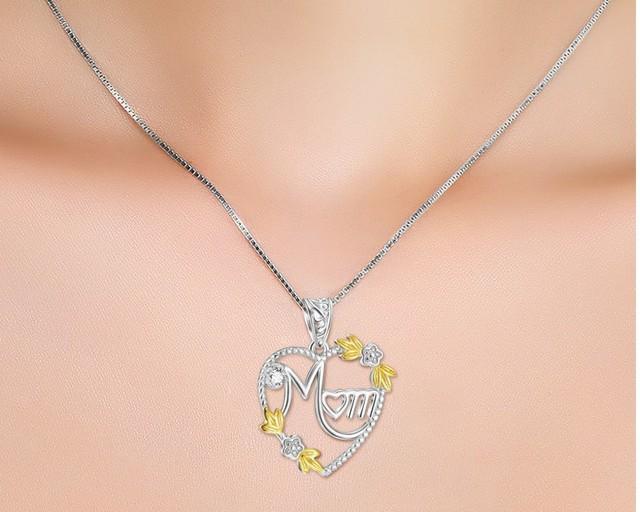 женское длинное ожерелье чокер с подвеской в виде сердца фотография