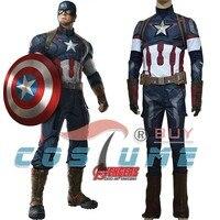 Костюм Капитана Америка Мстители Возраст Альтрона Капитан Америка 2 костюм Стив Роджерс косплей костюм