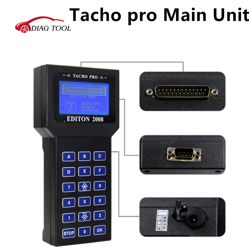 2018 Hot Selling Universal Tacho Pro V2008 July Version Unlock Version Mileage Correction Tacho Pro