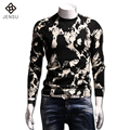 2016 Men Model Wool Sweaters Pullovers Hombre Autumn Menswear Men's Casual Fashion Slim Fit Long Sleeved O Neck Knitted Sweaters