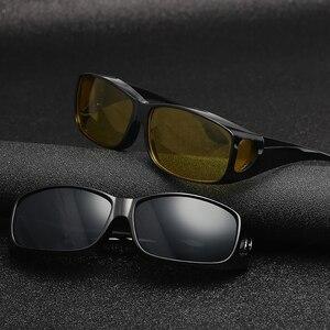 Image 3 - ZK30 רכב נהיגה משקפיים ראיית לילה בטיחות מקוטב משקפי משקפי שמש HD ראיית שמש משקפיים Dropshipping UV הגנה