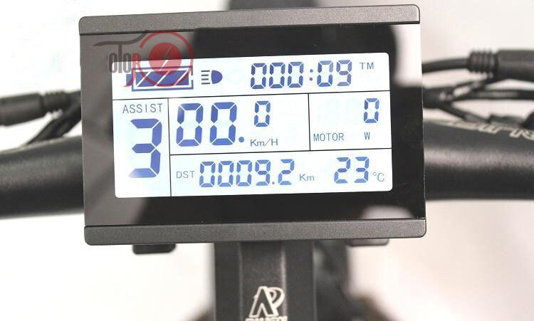 Custom 26inch Fat tire ebike 1500W 48V Li-ion snow electric mountain bicycle Hydraulic disc brake maximum range 100-260km 4