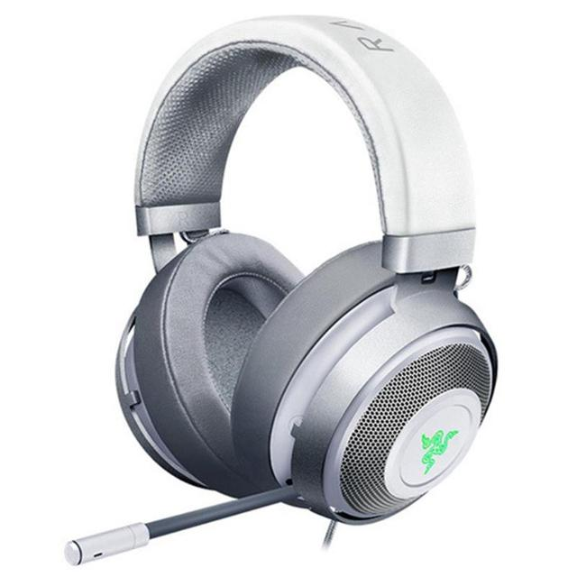 Razer Kraken Headsets 7.1 Chroma V2 2m Wired Black/White 32Ω 123dB Headphones Over-Ear Gaming Headset With Microphone for Games
