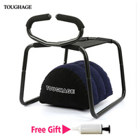 Toughage Weightless Sex Chair Sofa Love Sex Pillow Easily Load 300KG Sex Furniture for Couples Elastic Adults Products