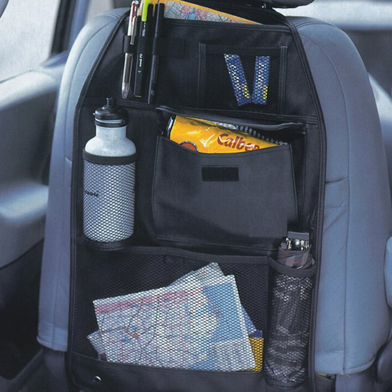auto car interior accessories waterproof multi pocket seat covers storage bag organizer