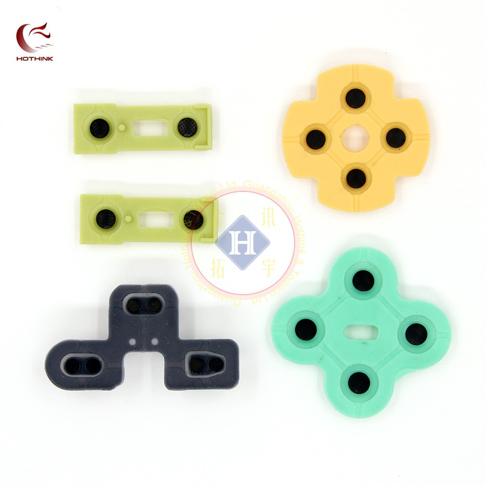 2SETS/LOT Replacement For PS2 Controller D Pads Rubber Conductive R L Button