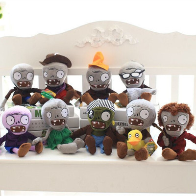 30cm Hot Plants vs Zombies Plush Toys Cute Plush Plants vs Zombie Stuffed Toys Doll Kids Toys Gifts