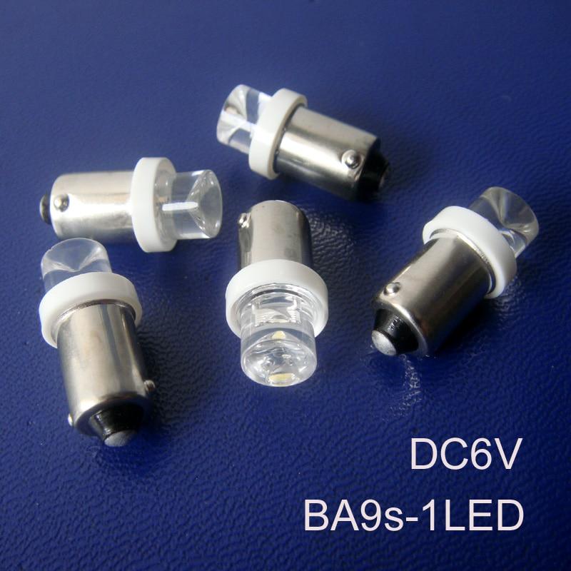 High quality BA9S 6v led pilot lamp,BA9S 6.3v led Instrument Lights,ba9s 6v led lamp free shipping 100pcs/lot