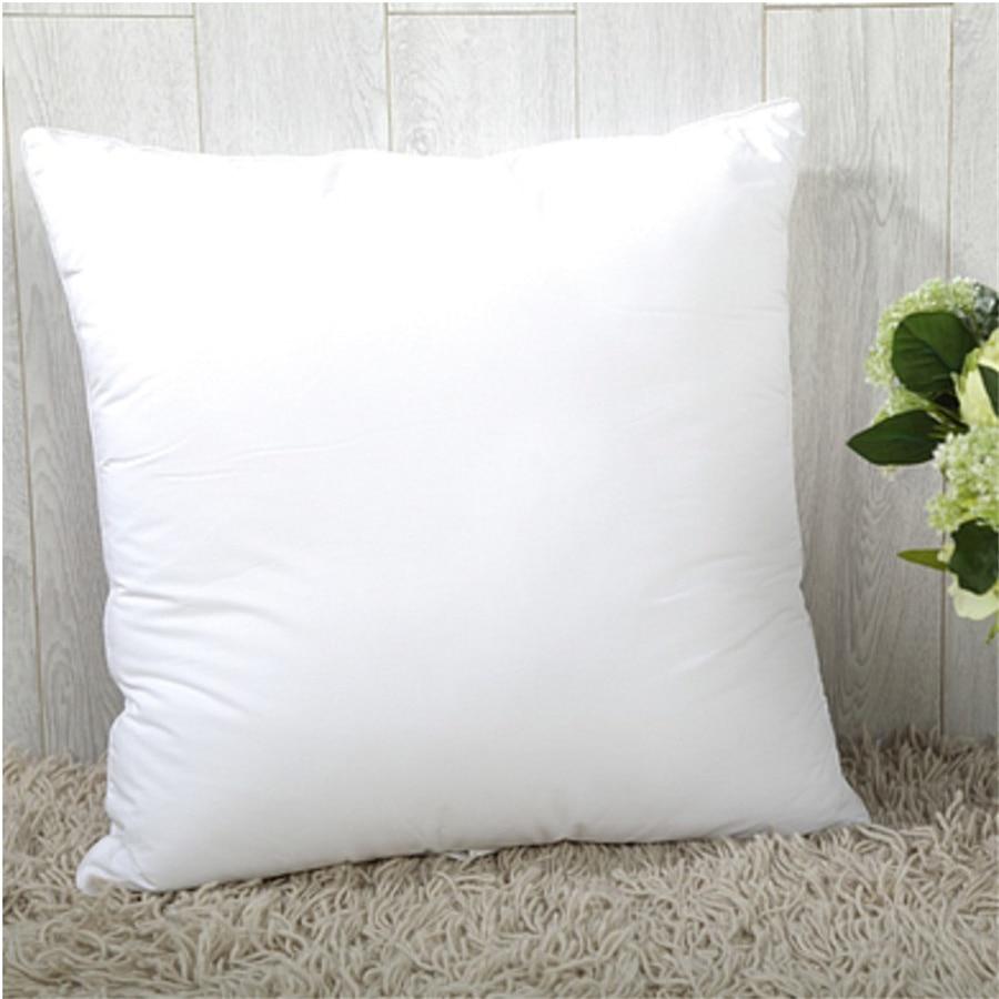 Decorative Pillow Filling : 35/40/45/50/55/60cm White Soft PP Cotton Seat Filling Cushion Core Decorative Throw Pillow ...