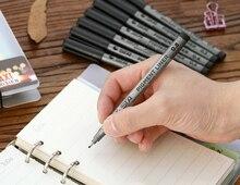 Micron Pen STA 9pc Needle Pen School Supplies Waterproof Pigment Liner Painted Pens Soft Head The