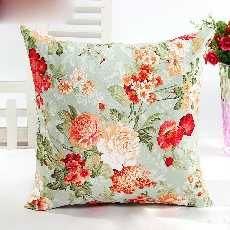 Free Shipping 1pcs 5 Colors American Rustic Style Cushion ...
