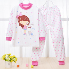 Baby Girl Real Down & Parkas Open Stitch Baby Set 2016 New Male And Female Cotton Underwear Sets Newborn / Warm Suit Clothin