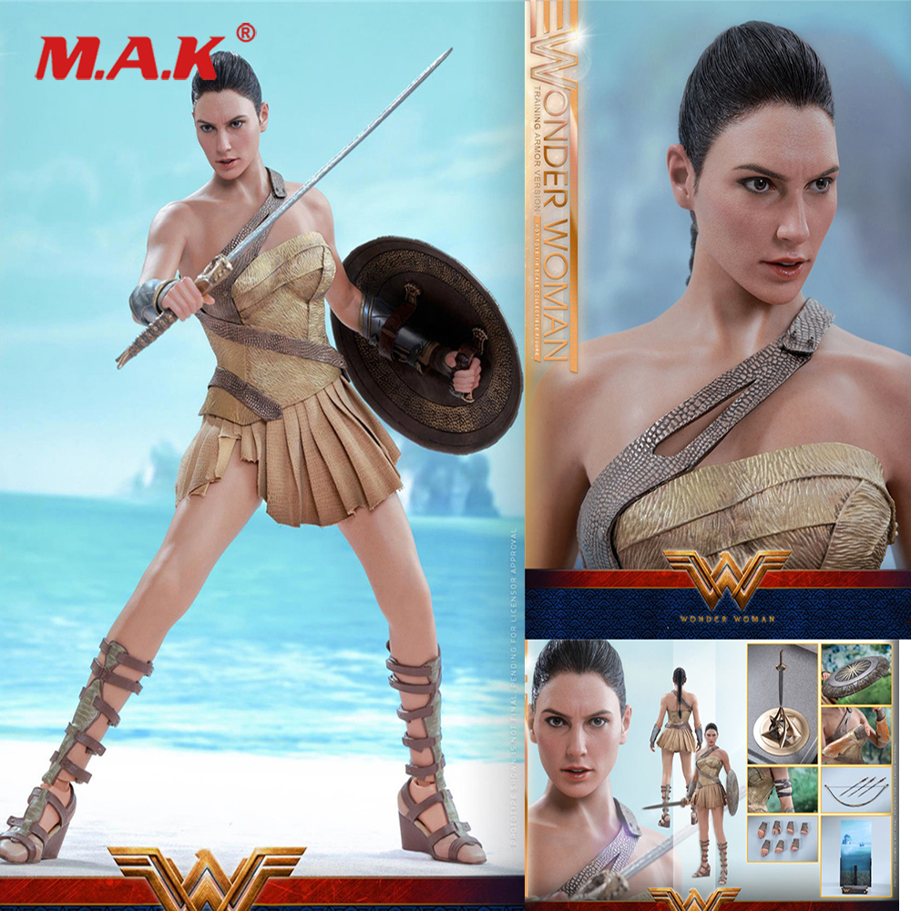 For Colletion 1 6 Scale Full Set Action Figure Wonder Woman Training Armor Version Collectible Figure