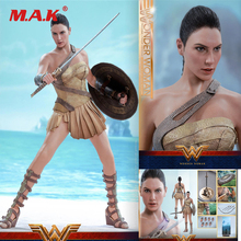 For Colletion 1/6 Scale Full Set Action Figure Wonder Woman (Training Armor Version) Collectible Figure for Fans Holiday Gift on sale 1 6 scale colletible brad pitt fight club action figure model red jacket version with cigarette full set figures