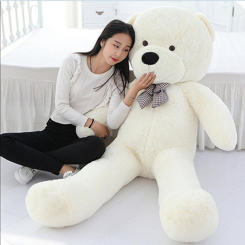 c1c16a24b19 47  Giant Big Huge White Teddy Bear Plush Stuffed Soft Toys doll ...