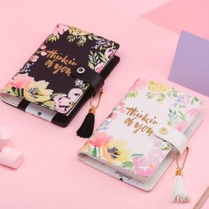Image 3 - Lovedoki אמצע קיץ סדרת עבה מחברת 2019 תכנית שבועית A6 מתכנן Creative תלמיד יומן קוריאני מתנת מכתבים