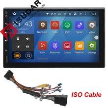 2 Dos Din 7 Pulgadas Android 6.0 Universal de Coches Reproductor de DVD Para Nissan/Toyota Corrola/Volkswagen Wifi GPS de Navegación de Radio Bluetooth