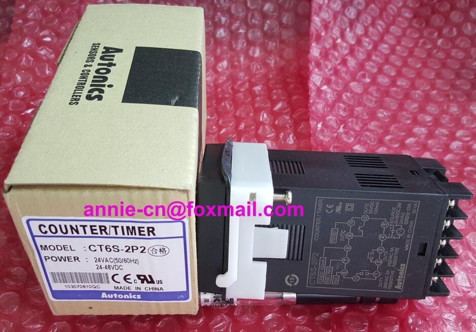 ФОТО 100% New and original CT6S-2P2(CT6S-2P) Autonics COUNTER/TIMER