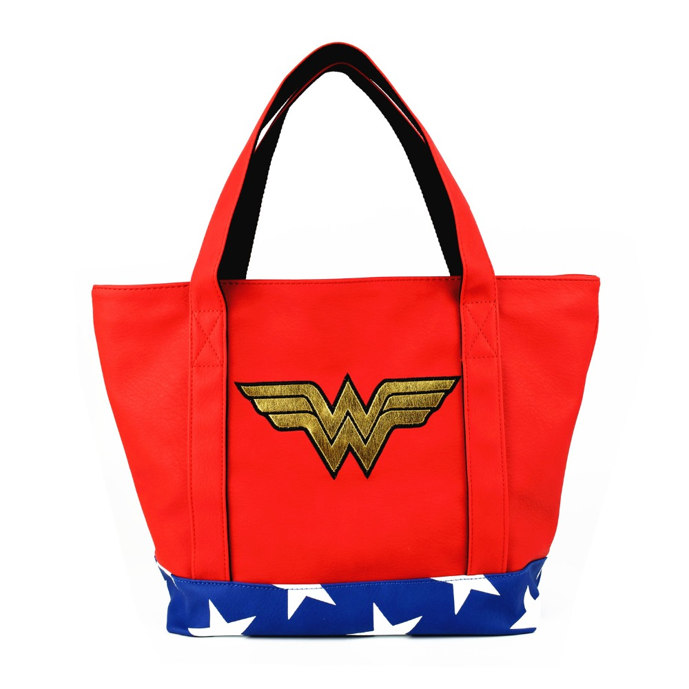 New Arrival Full PU Women Shoulder Bag Wonder Woman Handbags Female Daily Causal Totes Lady Elegant Shopping Handbag|Top-Handle Bags|   - AliExpress