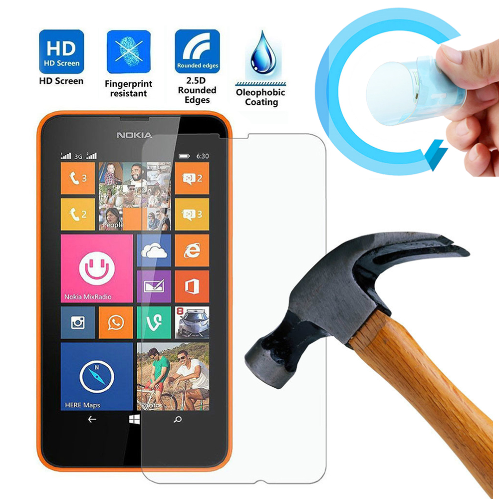 Nano Soft Screen Protector Film For Nokia Lumia 520 532 630 820 Protective Microsoft 535 640 640xl 950 950xl In Phone Protectors From