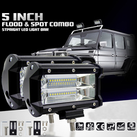 Car Sytling Work Light 12V Work Lamp Tractor Work Light Bar 72W 6000K With CREE LED