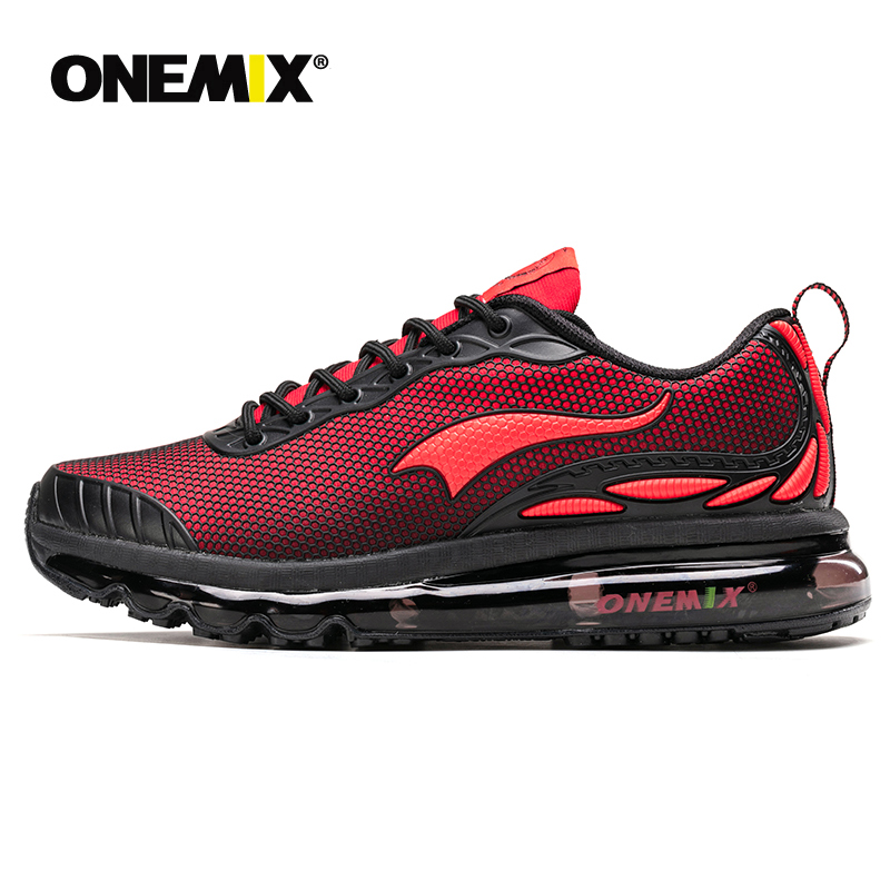 ONEMIX max homme chaussures de course pour hommes belles tendances courir respirant maille chaussures de Sport pour hommes Jogging chaussures de marche en plein air baskets
