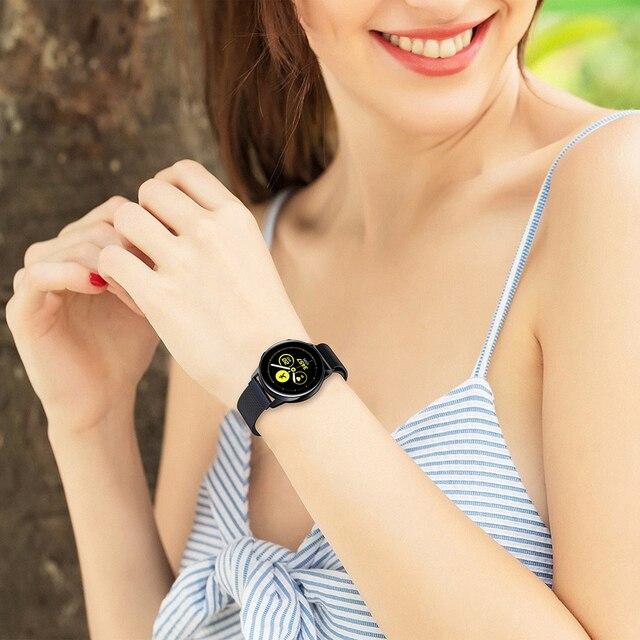 Montre galaxie 46mm pour samsung actif 2 42mm S2 S4 Gear S3 frontie hauwei montre gt amazfit bip bracelet 20mm 22mm bracelet bracelet
