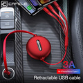 Cafele 3in1 USB Type C Micro USB Cable Type-c for iPhone Charger Cable 120cm 3A Fast Charging USB C Cable