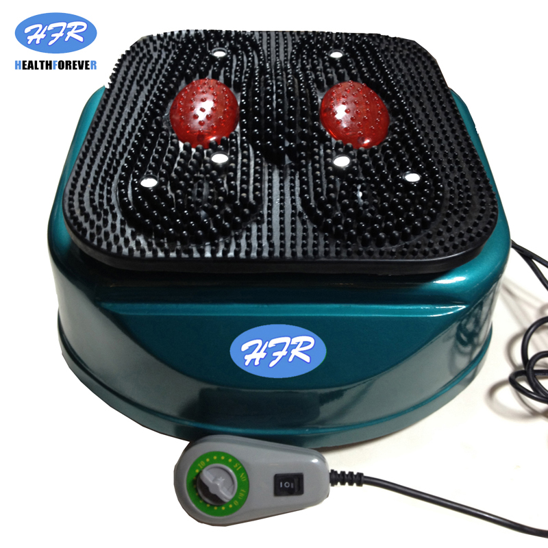 Discount²Healthforever Massage-Machine Vibrating-Device Remote-Control Foot-Blood-Circulation
