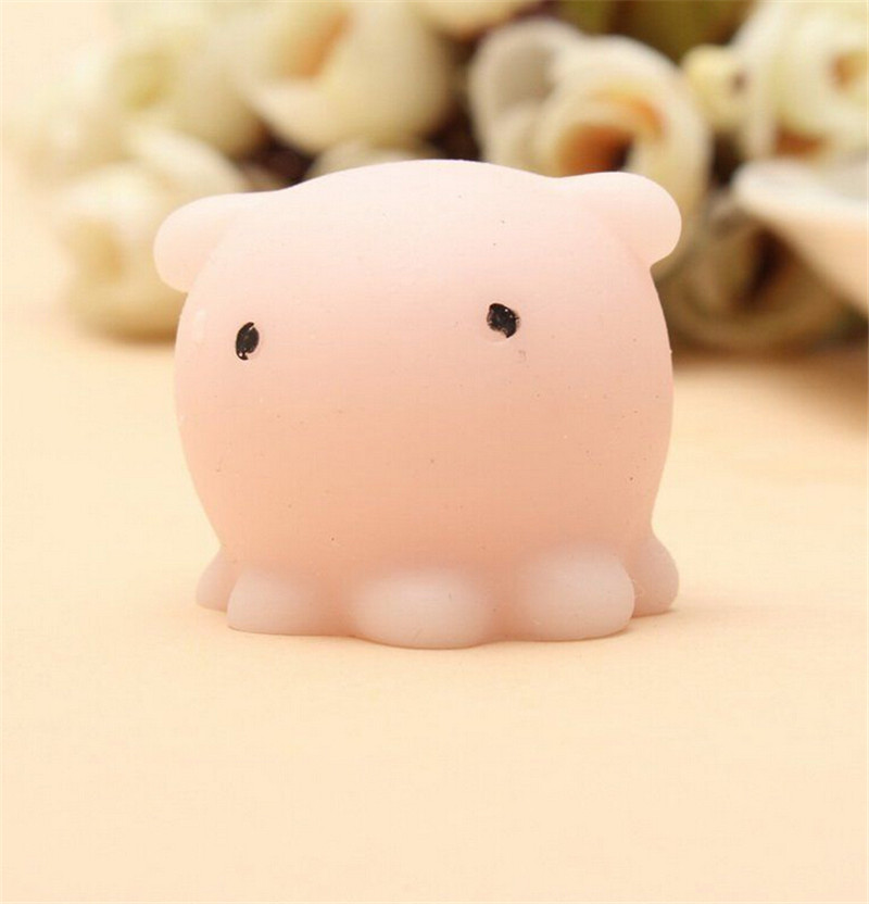 Luggage & Bags Octopus Squishy Slow Rising Kawaii Mini Bunny Bag Accessories Squeeze Stretchy Cute Pendant Bread Cake Kids Toy Gift 1 Pcs