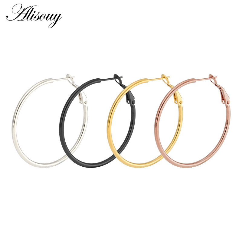 Alisouy Hot Hoop Earrings