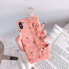 MA The Retro Funny Simple Woman Style Soft Silicone Fashion Wristband Phone Case Cover For Iphone6 6S Plus 7 8 X XR XS Max