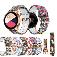 20 ремешок для часов, мм для samsung Galaxy Watch Активный спортивный силиконовый сменный ремешок для samsung Galaxy Watch 42 мм браслет ремень