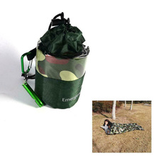 Outdoor Accessories Camping Travel Hiking Portable Practical Camouflage Sleeping Bag Emergency Bags