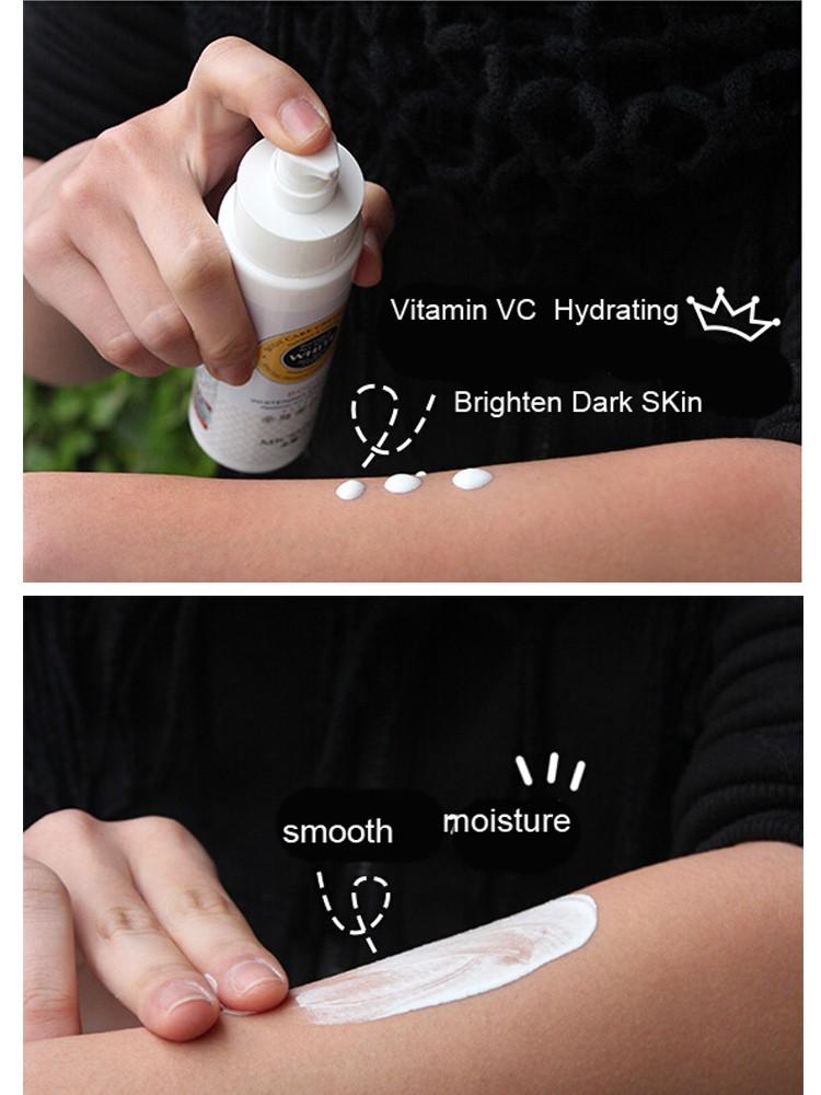 1 Sec Instantly Body Whitening Cream Moisturizer Skin Whitening Body Lotion Bleaching Cream 150ML 10