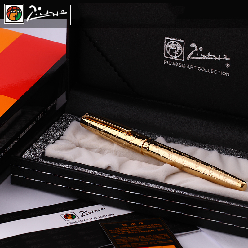 Image 5 - Picasso Luxury Full Metal Iraurita fountain pen 0.5mm ink pens dolma kalem Caneta tinteiro Stationery signing pens 1040-in Fountain Pens from Office & School Supplies